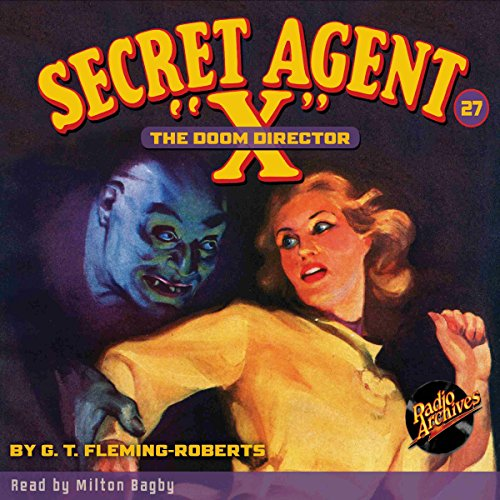 "Secret Agent ""X"" #27 audiobook cover art"