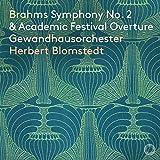 Brahms Sinfonie Nr.2 Op.73 & Akademische Festouvertüre [Herbert Blomstedt & Gewandhausorchester Leipzig]