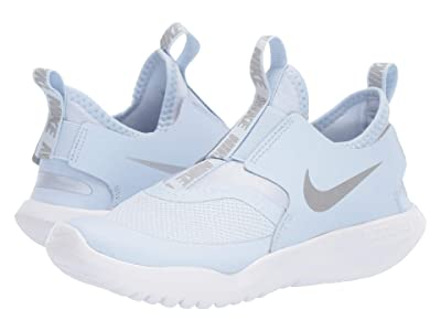 Nike Kids Flex Runner (Little Kid) (Half Blue/Metallic Silver/Aluminum/White) Kids Shoes