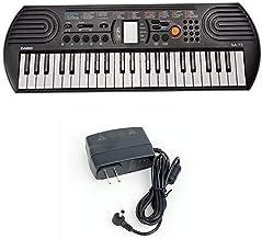 Casio SA77 44 Keys 100 Tones Keyboard bundle with Casio Powe