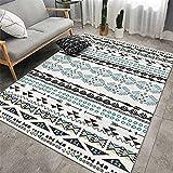 Alfombra Carretera Infantil Multicolor alfombra futbol Alfombra de cabecera de dormitorio de sala de estar de decoración de interiores suave y cómoda de estilo retro alfombra habitación matrimonio 40X