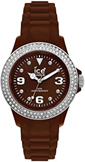 Ice-Watch Stone Sili Brown-Silver Brown Dial Unisex watch #ST.NS.U.S.10