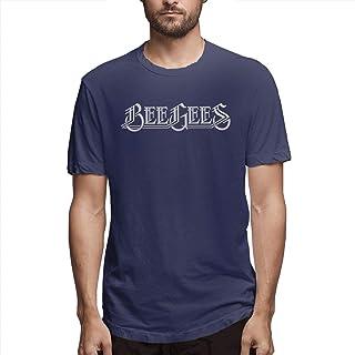 3b44ca466 PTWANXIN Bee Gees O Neck Adult Short Sleeve Tee Fashion T Shirt