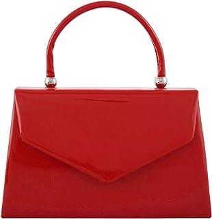 8112936a052b fi9® BNWT Retro Tote Patent Leather Bridal Wedding Evening Handbag Party  Purse Clutch Shoulder Hand