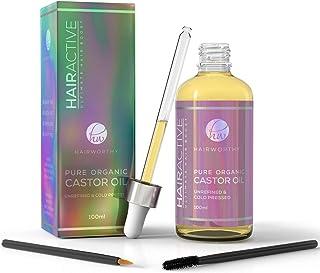 comprar comparacion Hairworthy – Aceite de Castor 100% Puro, Orgánico, Prensado En Frío y Natural para un Crecimiento De Cabello, Pestañas Y C...