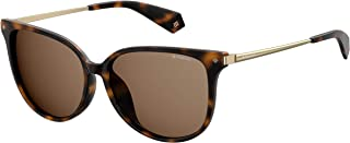 Polaroid Women's PLD 4076/F/S Sunglasses, Multicolour (Dkhavana), 58