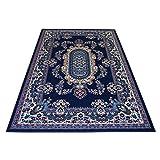 WEBTAPPETI.IT Tappeto Classico Orientale Economico - Tappeto Soggiorno - Tappeto arredo Royal Shiraz 2063-BLUE 140x210