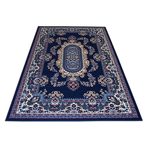 WEBTAPPETI.IT Klassischer orientalischer Teppich – Teppich für Wohnzimmer – Einrichtungsteppich Royal Shiraz 2063-BLUE 200 x 300 cm