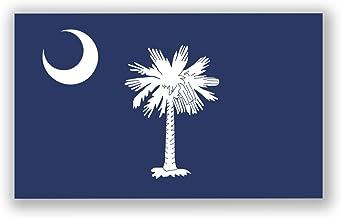 SELECT SIZE Native South Carolina Oval Car Laptop Phone Vinyl Sticker