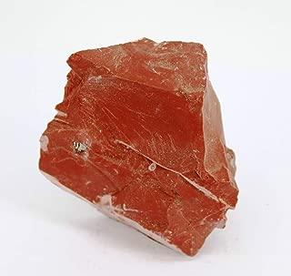 juanxian W3495 Colgante de Cristal de Jaspe Rojo Natural de 30 x 20 mm con Huevo Pulido Yoni para la Salud de Las Mujeres