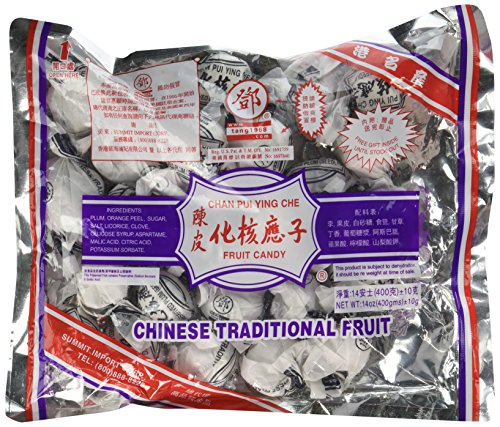 Dried Plum Fruit Candy - Chan Pui Ying Che - 14 Oz (400 G) (Pack of 1)