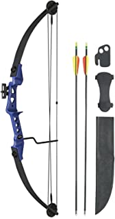 """Leader Accessories -Compound Bow 19-29lbs 24"""" - 26"""" Archery Hunting Equipment with Max Speed 129fps"""