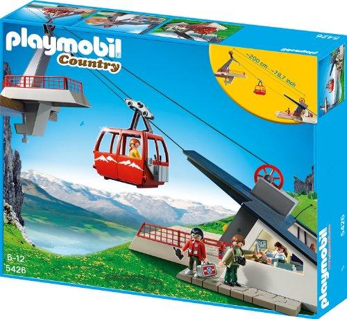 Playmobil 5426 - Seilbahn mit Bergstation