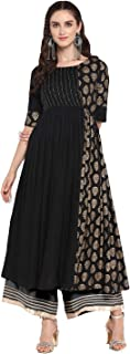 Varanga Women's Rayon Salwar Suit Set