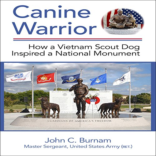 Canine Warrior audiobook cover art