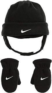 Nike Infant/Toddler Boy's 2-Piece Swoosh Fleece Hat & Mittens Set