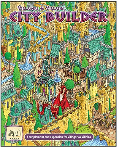 Villagers & Villains: City Builder Expansion
