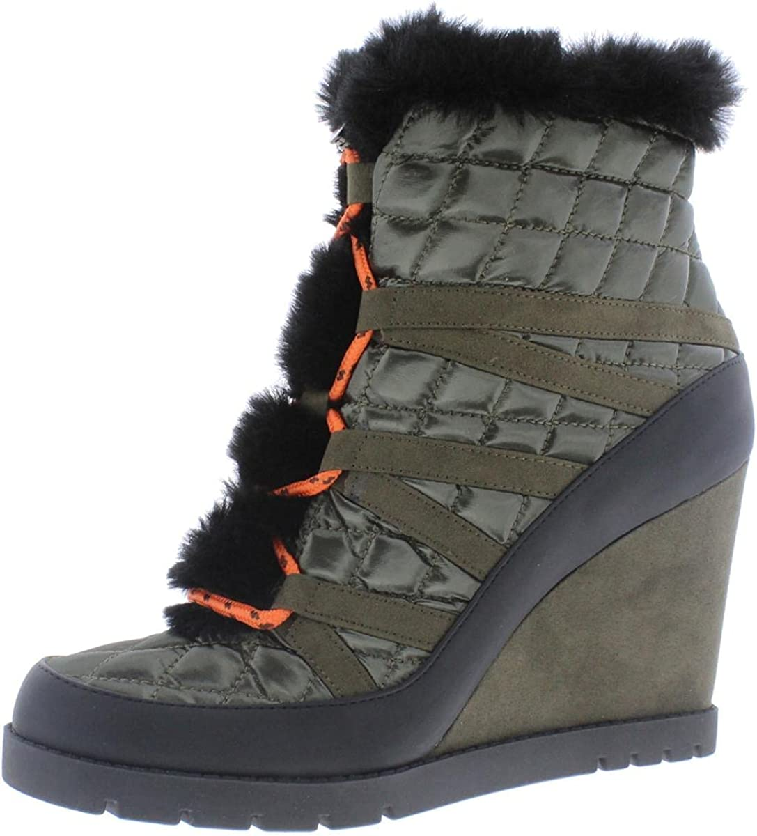Jessica Simpson Womens Brixel Faux Ankle Boots Outstanding Jacksonville Mall Fur Wedge