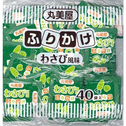 丸美屋食品工業 丸美屋 特ふり わさび風味 100g 2.5g×40袋
