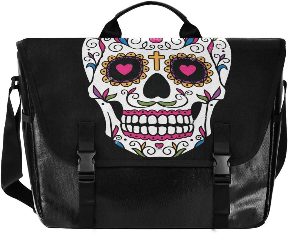 Mermaid Messenger Bag Canvas Laptop Shoulder Bag for Travel Work College for Men Women