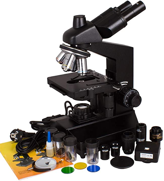 Microscopio trinoculare digitale levenhuk d870t 8m 40030