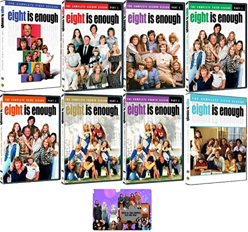 Eight is Enough: Complete TV Series Seasons 1-5 DVD Collection with Bonus Art Card