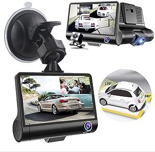 4.0 inch three shots tachograph wide-angle night vision 1080PFHD motion detection loop recording monitoring parking gravit...