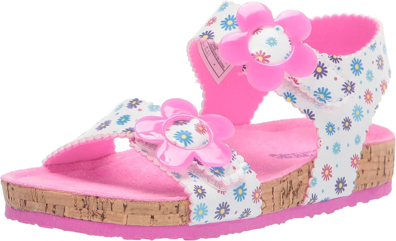 Skechers Unisex-Child Granola-Wild Daisy Water Shoe