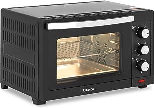 bredeco Mini-Four Minifour Mini Four Posable Petit Four Électrique BCMO-30L (1 600 W, 30 l, 100-230 °C, Multifonctions, 5 ...