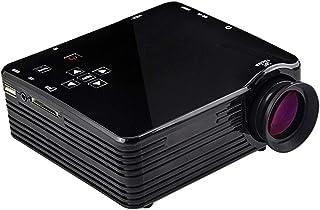 أنظمة المسرح المنزلي JHMJHM VS320 400ANSI Lumens 240x320 دقة LED+LCD تقنية العرض الذكي، يدعم AV / HDMI / SD Card / USB / V...
