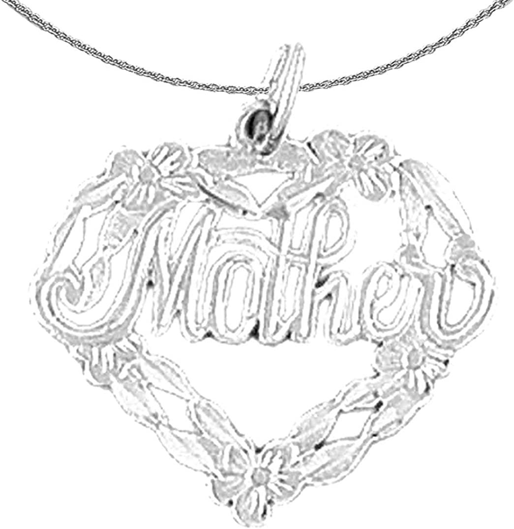 Jewels Obsession Gold 70% OFF Outlet Mother Today's only 14K White Pe Necklace