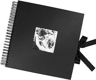 Starthi Scrapbook, DIY Photo Album with Photo Opening Wedding Guest Book Anniversary Baby Shower Travel Memory Book