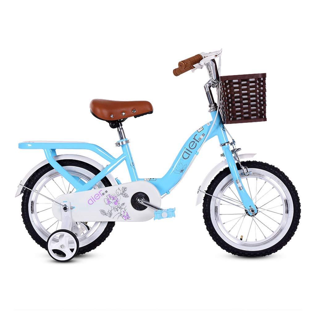 Bicicletas Bicicleta para niños de 2 a 10 años. Pedal para bebé Bicicleta niño niña niño Carro de bebé (Color: Azul, Tamaño: 12 Pulgadas): Amazon.es: Hogar