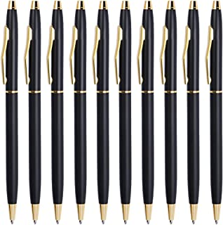 Black Pens, Cambond Ballpoint Pen Bulk Black Ink 1.0 mm Medium Point Smooth Writing for..