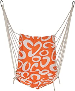 Ailin home- Garden Hammock Hanging Rope Chair  Swing Seat For Any Indoor Outdoor Spaces  College Student Dormitory Rope Chair  Load  150kg  Does Not Contain Iron Frame