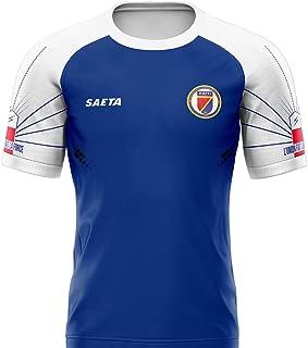 SAETA Men's Haiti Home Jersey (Fan)