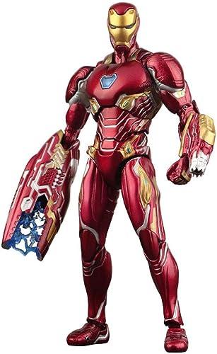 WANGJUNXIU Modèle Toy Alliance Marvel Iron Man MK50 Avengers