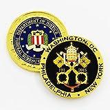 FBI Pope Francis Papal New York, Philadelphia, Washington DC Visit Challenge Coin