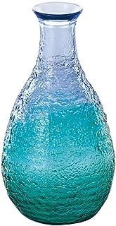東洋佐々木ガラス 徳利 カラフェ 珊瑚の海 ブルーグリーン 日本製 290ml WA165CB/EG