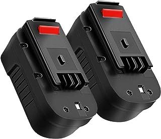 2 unidades HPB18 3.6Ah 18V reemplazo para batería Black and Decker, batería para B&D HPB18-OPE 244760-00 A1718 FSB18 FEB180S A18 FS18FL