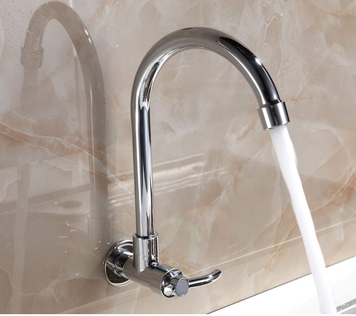 Single Cold into The Wall Sink Faucet Sink Faucet?Quick Open Faucet Faucet Kitchen Sink Faucet Bathroom Sink Faucet