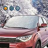 ZOTO Frontscheibe Auto Windschutzscheibe Frontscheibenabdeckung Sonnenschutz Scheibenabdeckung UV-Schutz Abdeckung Sonnenblende