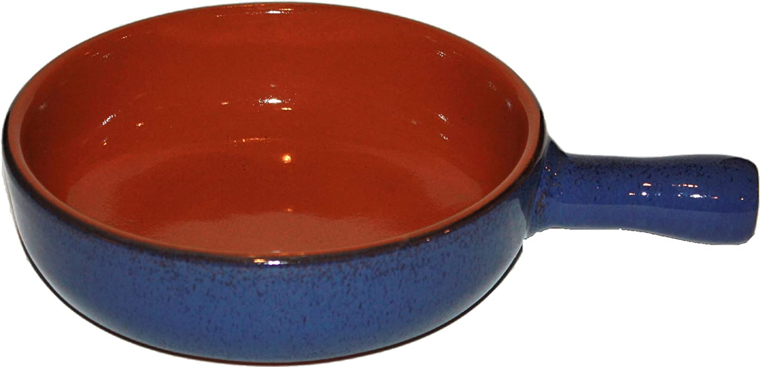 Sales for sale Amazing Max 67% OFF Cookware 20cm Terracotta Blue' Pan 'Reactive -