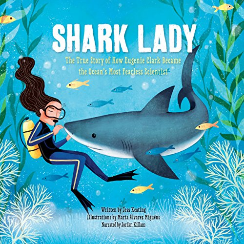 Shark Lady audiobook cover art