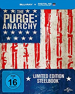 The Purge - Anarchy - Steelbook (inkl. Digital Ultraviolet) [Blu-ray] [Limited Edition]