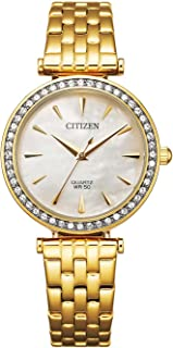 CITIZEN Womens Quartz Watch, Analog Display and Stainless Steel Strap - ER0216-59D