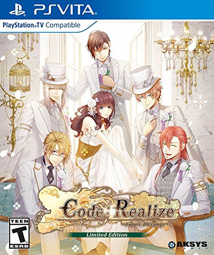 Code: Realize 'Future Blessings' Limited Edition - PlayStation Vita
