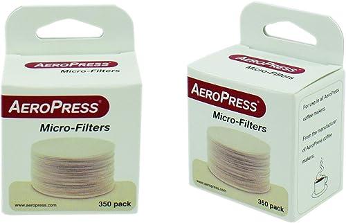 Aeropress Filtros de Papel Papel blanco Pack 2100 Filtros 6 Cajas de 350 Filtros