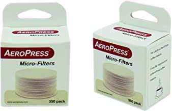 Replacement Filter Packs for the Aeropress Coffee and Espresso Maker, 700 Count, White