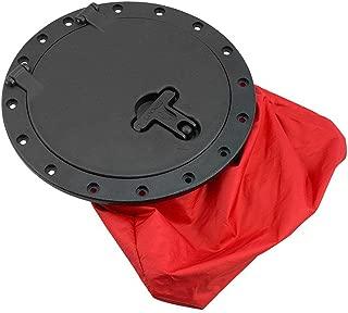 Vibe Kayaks 8 Inch Cam Lock Hatch and Storage Bag Kit